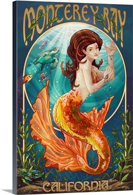 Monterey Bay, California, Mermaid
