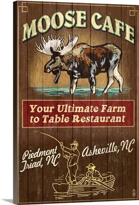 Moose Cafe, Asheville, North Carolina