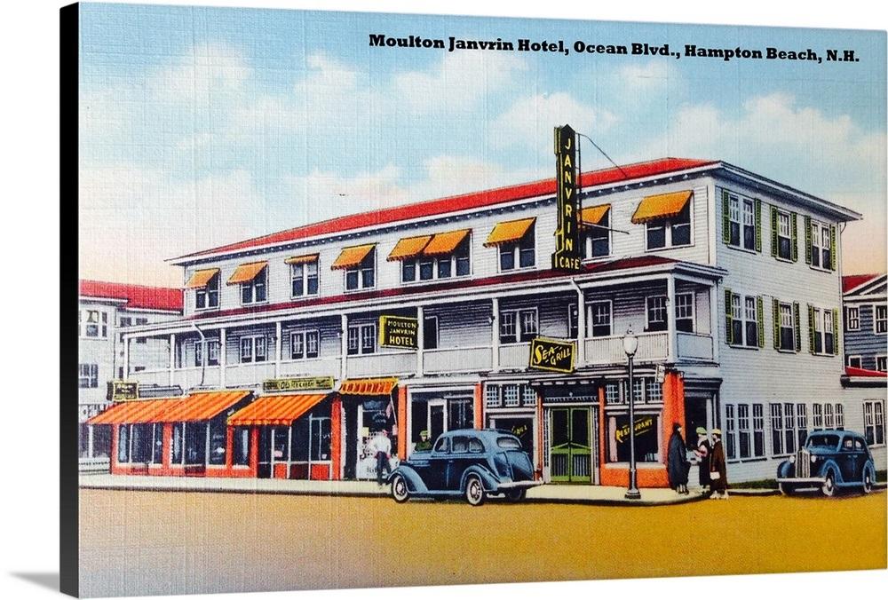 Hudons Restaurant in the Surf Hotel 279 Ocean Boulevard