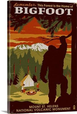 Mount St. Helens, Washington, Home of Bigfoot
