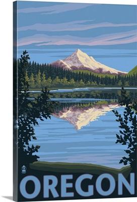 Mt. Hood from Lost Lake, Oregon