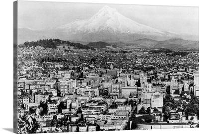 Mt. Hood View from Portland, Oregon