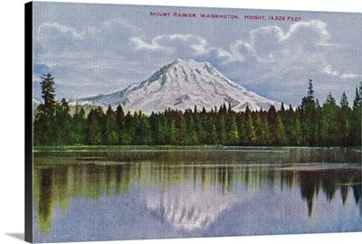 Mt. Rainier View, Rainier National Park
