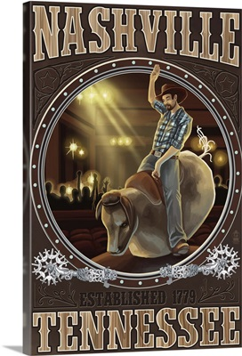 Nashville, Tennessee, Cowboy and Mechanical Bull