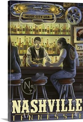 Nashville, Tennessee, Saloon Scene