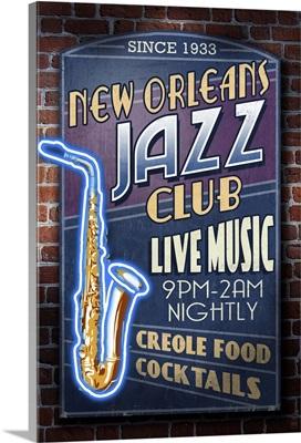 New Orleans, Louisiana, Jazz Club