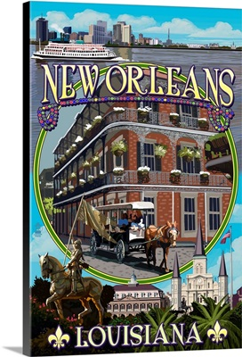New Orleans, Louisiana, Montage