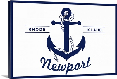 Newport, Rhode Island, Anchor Design (Horizontal)