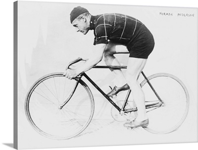 Norman Anderson, Side View of Racing Bicycle