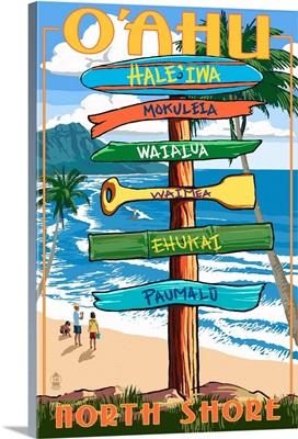 North Shore, Hale'iwa, Oahu, Hawaii, Signpost Destinations