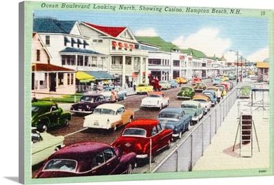 Ocean Boulevard, Hampton Beach, New Hampshire