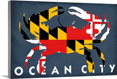 Ocean City, Maryland, Maryland Flag Crab