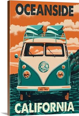 Oceanside, California, VW Van
