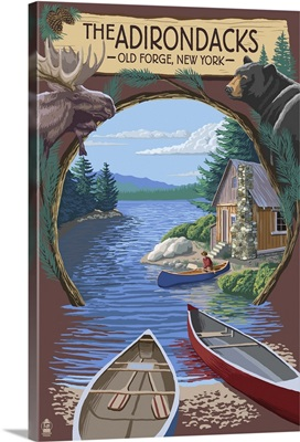 Old Forge, New York, The Adirondacks Scene