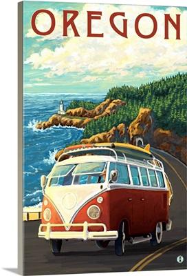 Oregon, VW Van Cruise
