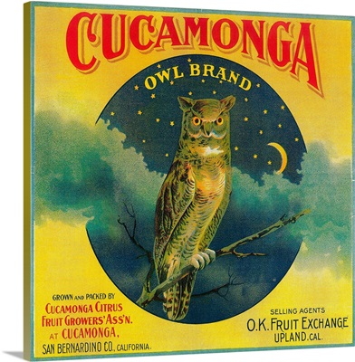 Owl Orange Label, Cucamonga, CA
