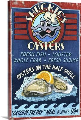 Oyster Bar, Vintage Sign