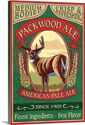 Packwood, Washington, Ale Vintage Sign
