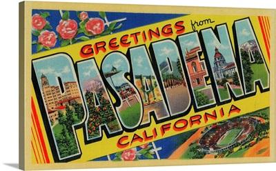 Pasadena, California, Large Letter Scenes