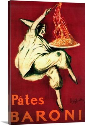 Pates Baroni Vintage Poster, Europe