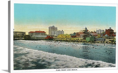 Pike Front and Long Beach, California