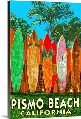 Pismo Beach, California, Surfboard Fence