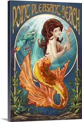 Point Pleasant Beach, New Jersey, Mermaid