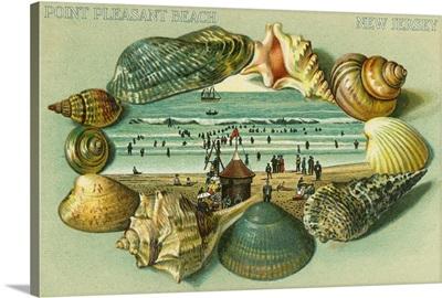 Point Pleasant Beach, New Jersey: Retro Poster Art