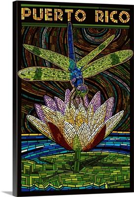 Puerto Rico, Dragonfly Mosaic