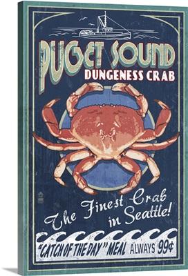 Puget Sound, Dungeness Crab