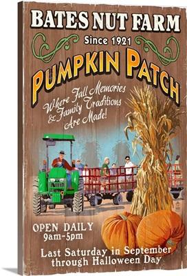 Pumpkin Patch, Bates Nut Farm, California