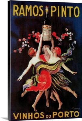 Ramos Pinto Vintage Poster, Europe