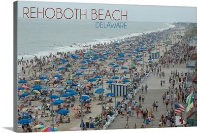 Rehoboth Beach, Delaware, Beach and Boardwalk