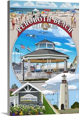 Rehoboth Beach, Delaware, Pavillion Montage
