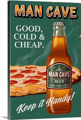 Retro Beer Ad
