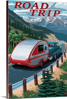 Road Trip, National Park WPA Sentiment