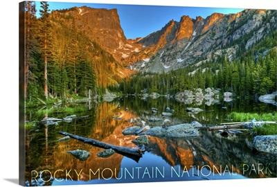 Rocky Mountain National Park, Colorado, Dream Lake Day