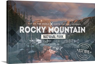 Rocky Mountain National Park, Rubber Stamp