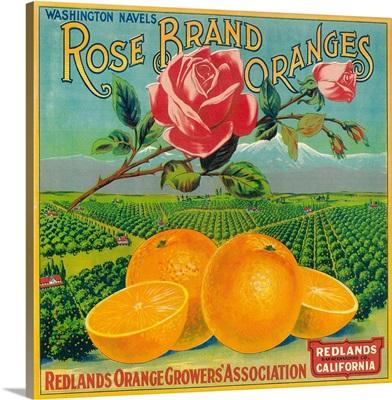 Rose Orange Label, Redlands, CA