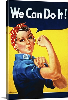 Rosie the Riveter, We Can Do It!, Poster