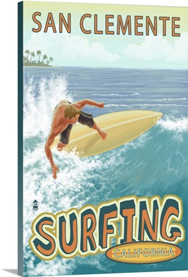 San Clemente, California, Surfer Tropical