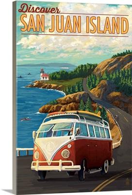 San Juan Island, Washington - VW Van