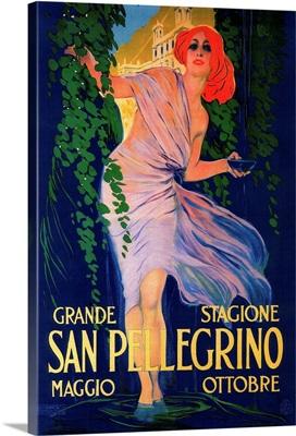 San Pellegrino Vintage Poster, Europe