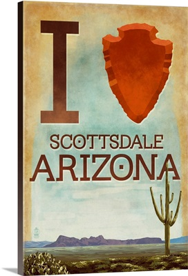 Scottsdale, Arizona, I Heart Scottsdale