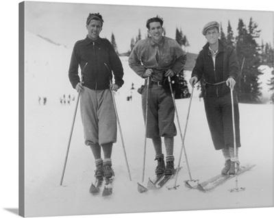 Seattle Ski Club at Silver Skis Race, Seattle, WA