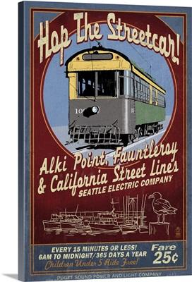Seattle, Washington, West Seattle Streetcar