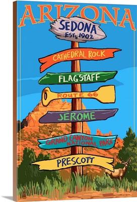 Sedona, Arizona, Destination Signpost