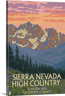 Sierra Nevada High Country, Sonora Pass, Tuolumne County, California