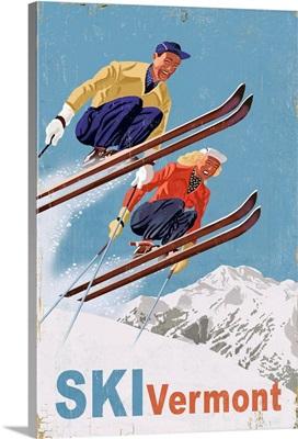 Ski Vermont, Vintage Skiers