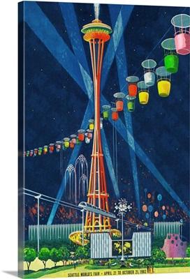 Space Needle Worlds Fair, Seattle, WA